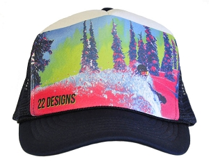 Mindblowing Pow Trucker Hat