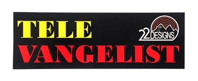 Tele-vangelist sticker